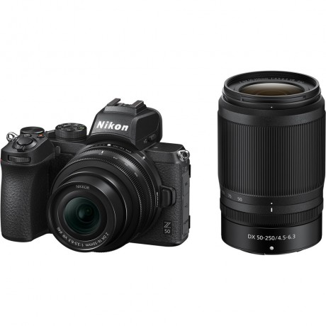 NIKON Z50 + 16-50 F/3.5-6.3 DX + 50-250 F/4.5-6.3 DX