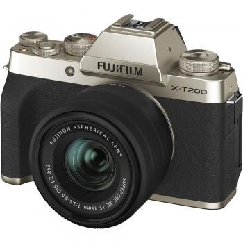 FUJI X-T200 GOLD + XC 15-45...