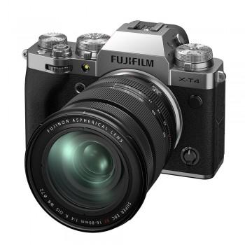 FUJI X-T4 SILVER + XF 16-80/4