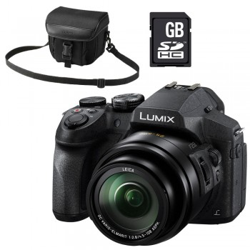PANASONIC FZ300 + SAC + SD...